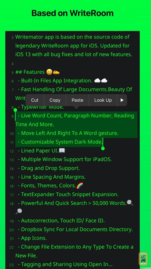 Screenshot - Writemator