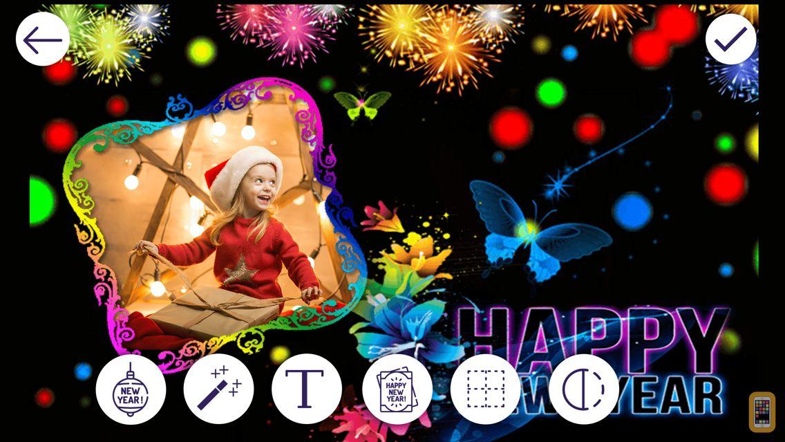 Screenshot - New Year Photo Frames
