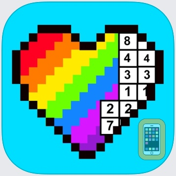 RAINBOW Color by Number by Crazy Labs (Universal)