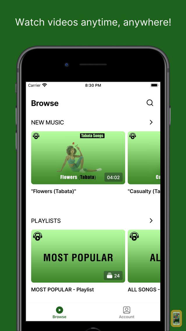 Screenshot - Tabata Songs