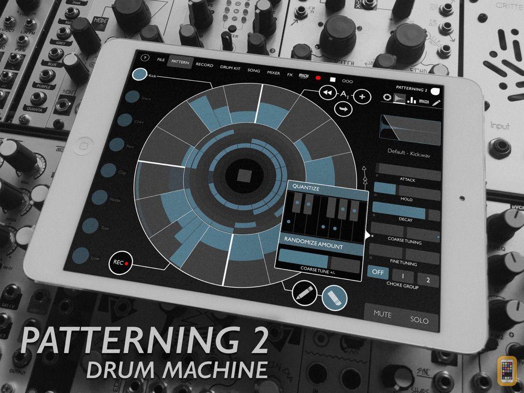 Screenshot - Patterning 2 : Drum Machine