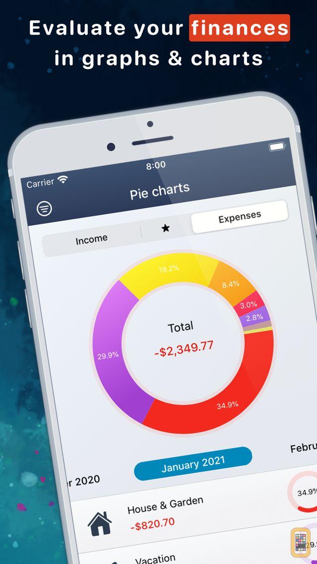 Screenshot - MoneyStats - Expense Tracker
