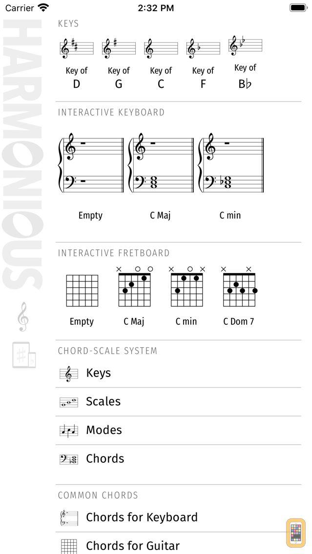 Screenshot - Harmonious: Music Theory