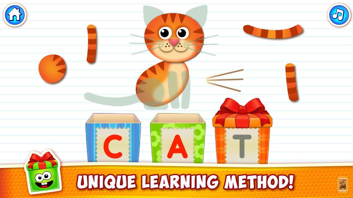 Screenshot - ABC Kids Games: Learn Letters!