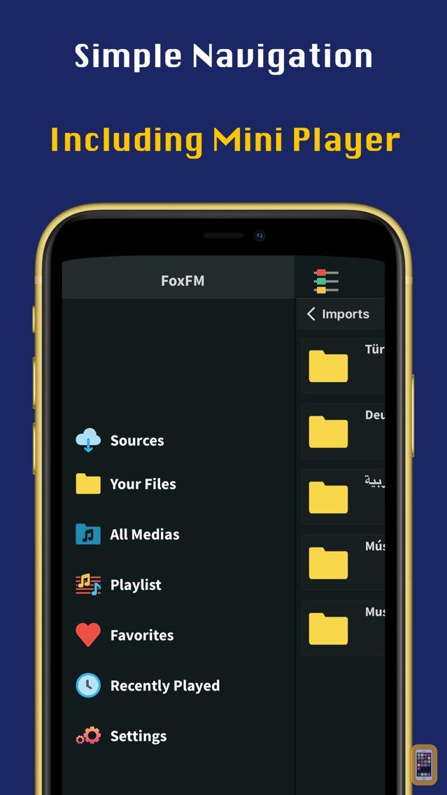 Screenshot - FoxFM - Offline Video Player