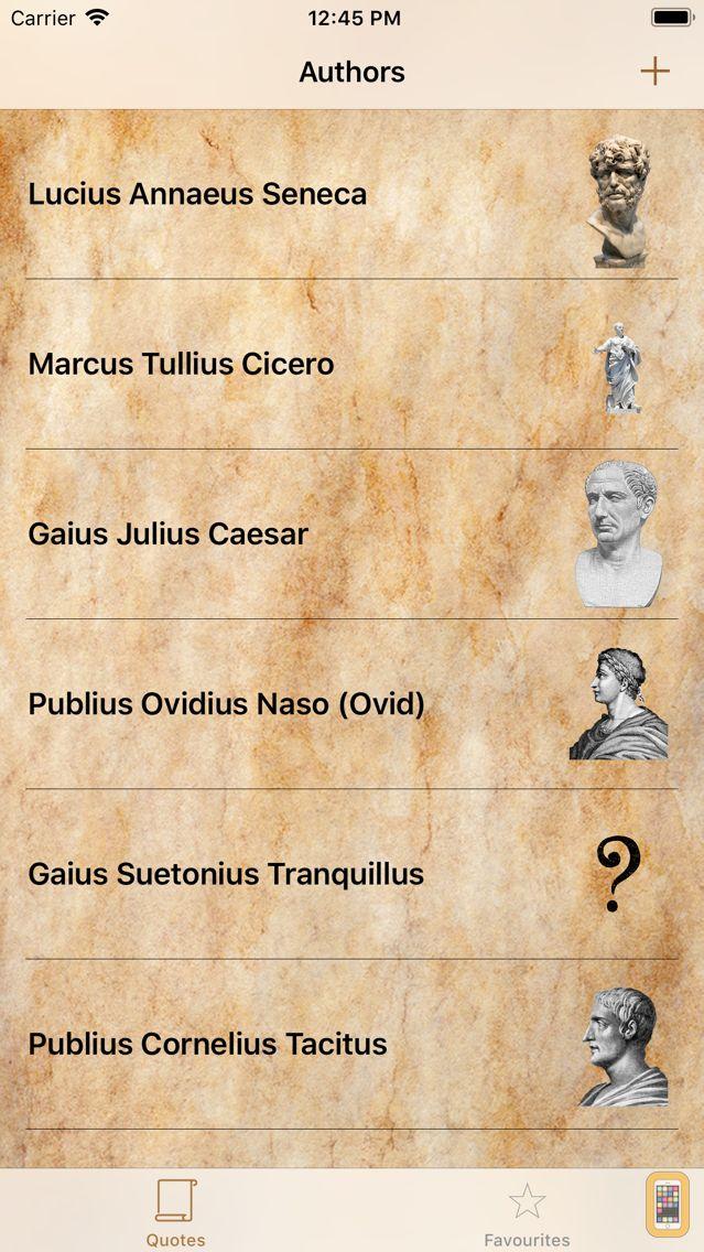 Screenshot - Latin Quotes