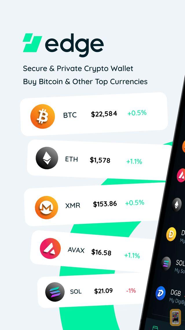 Screenshot - Edge - Crypto & Bitcoin Wallet