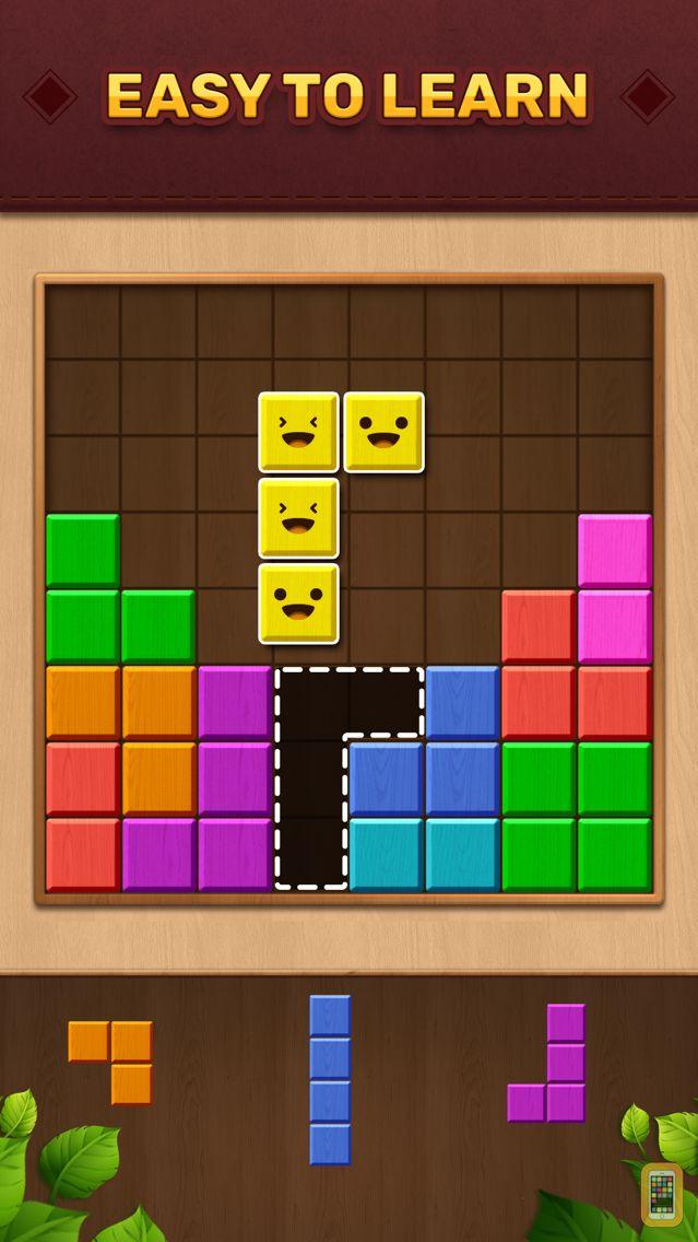 Screenshot - Wood Color Block: Puzzle Game