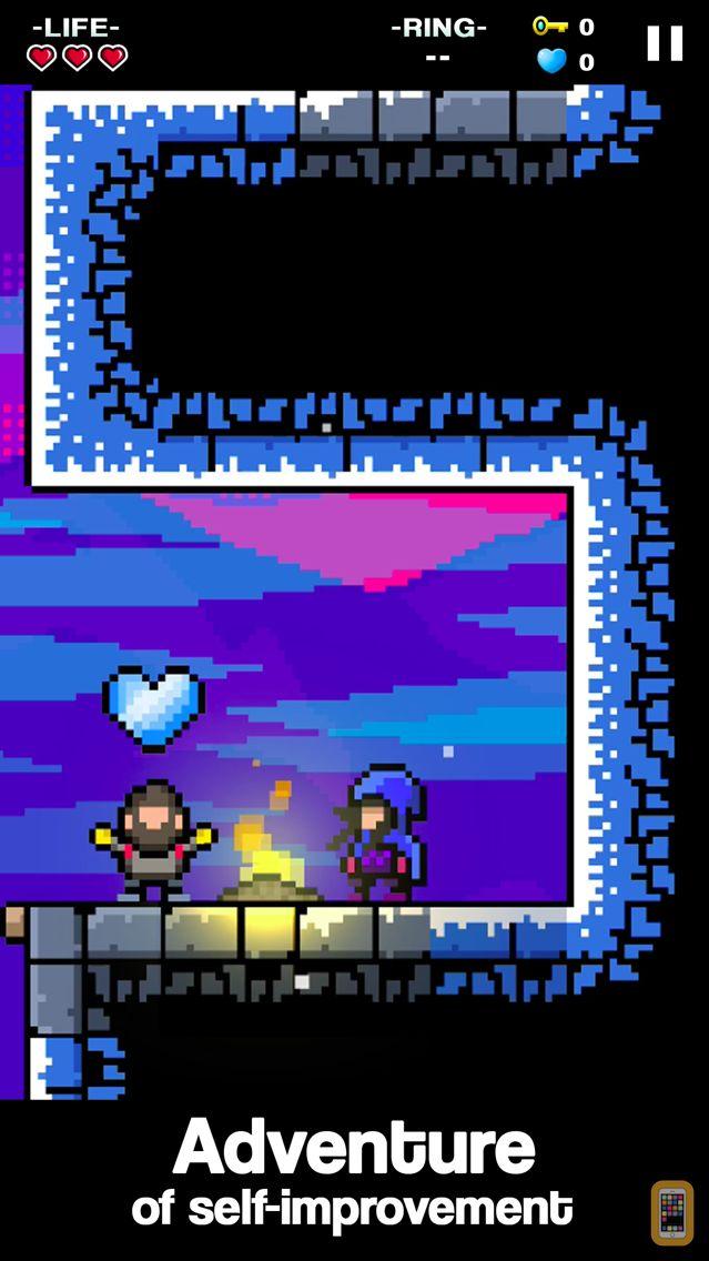 Screenshot - Mountain Climber: Frozen Dream