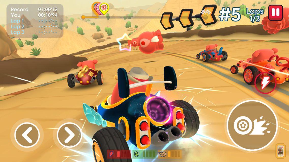 Screenshot - Starlit On Wheels: Super Kart