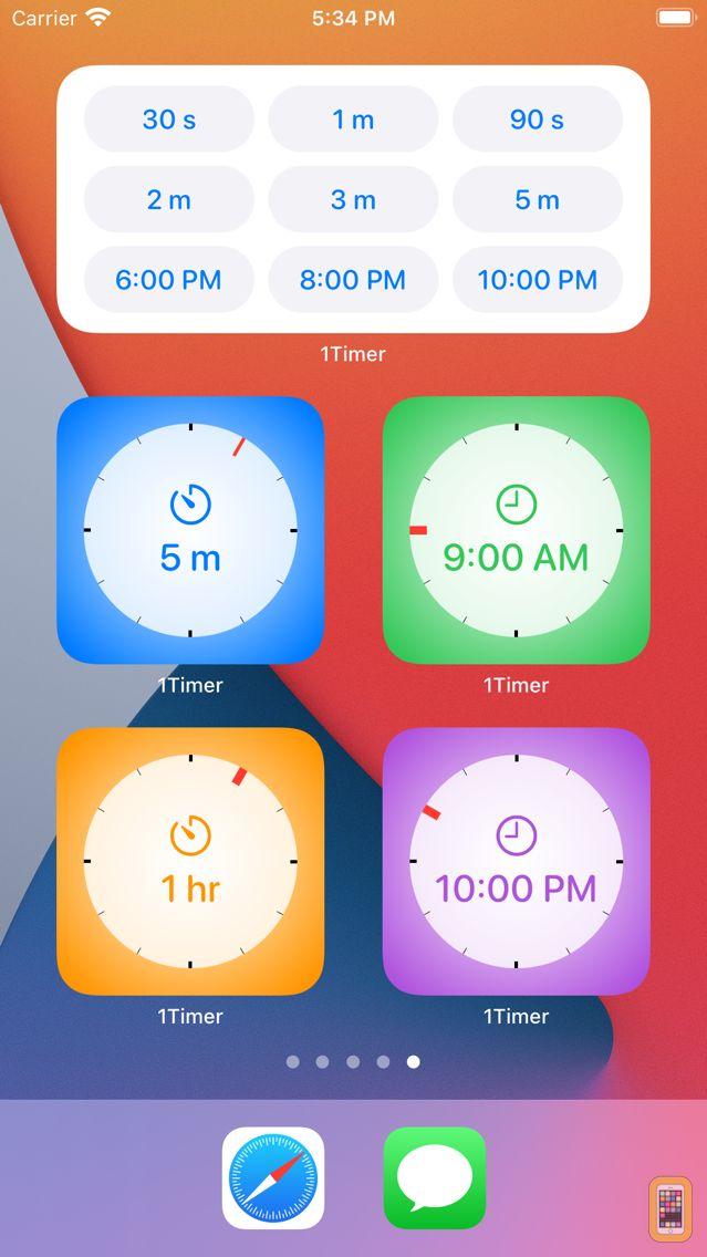 Screenshot - 1Timer - Voice Timer