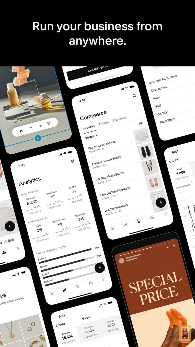 Screenshot - Squarespace — Website Builder