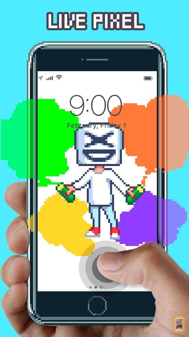 Screenshot - WOW Pixel - Live Wallpapers
