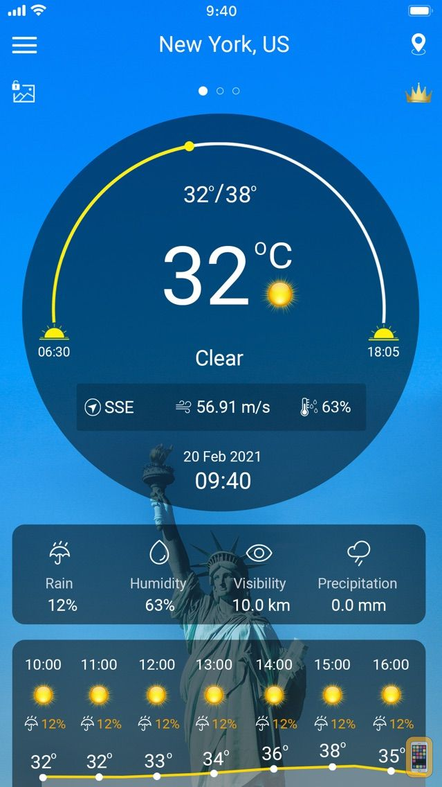 Screenshot - Weather : Weather forecast
