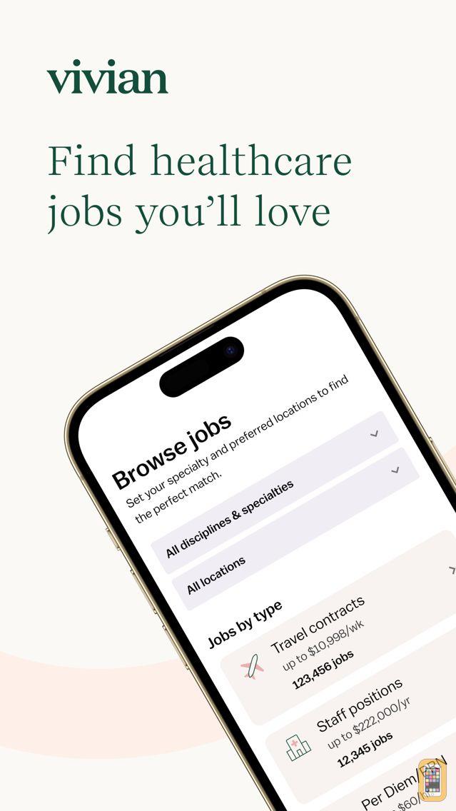 Screenshot - NurseFly Healthcare Job Search