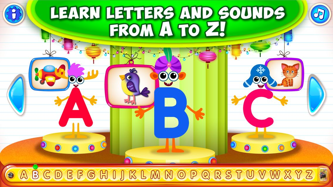 Screenshot - Alphabet for Kids ABC Games to