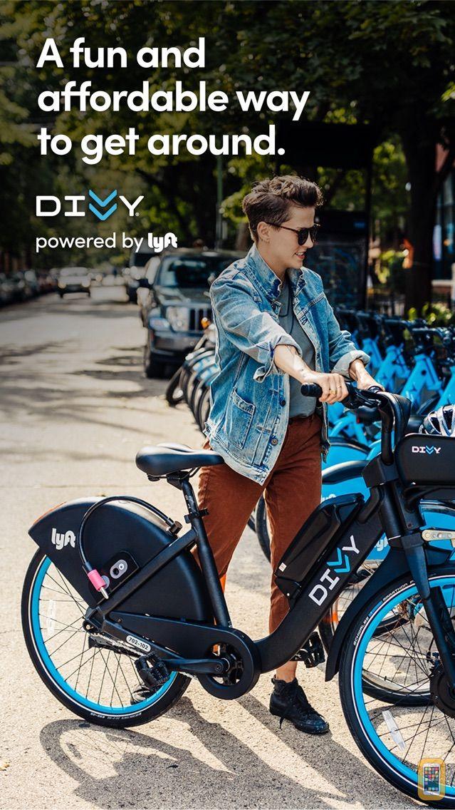 Screenshot - Divvy Bikes