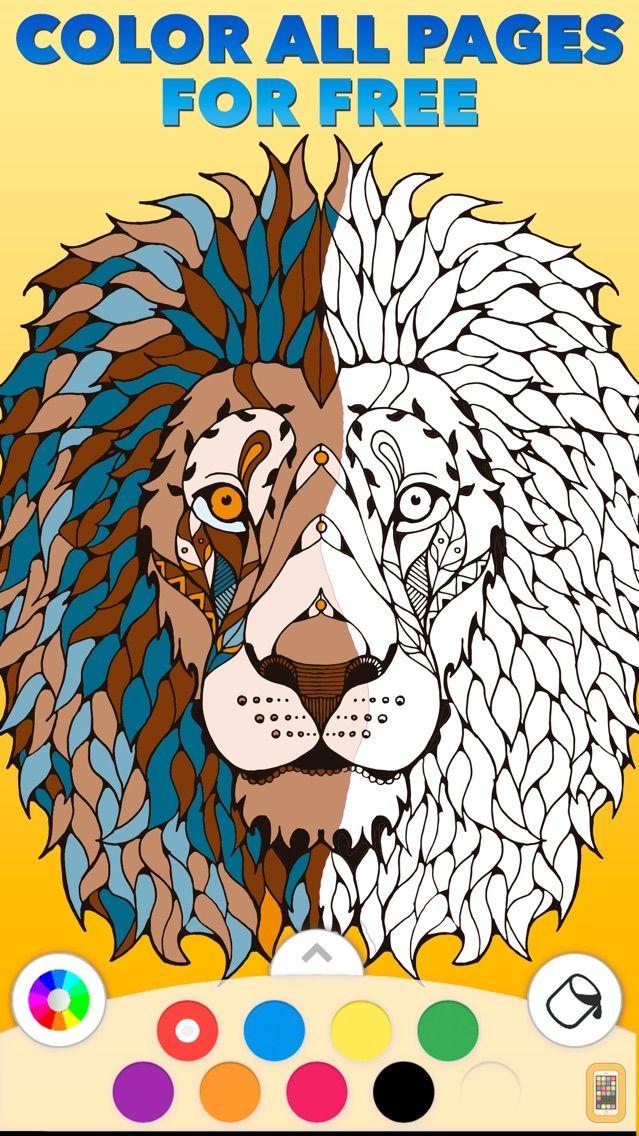 Screenshot - Coloring Book PRO ©