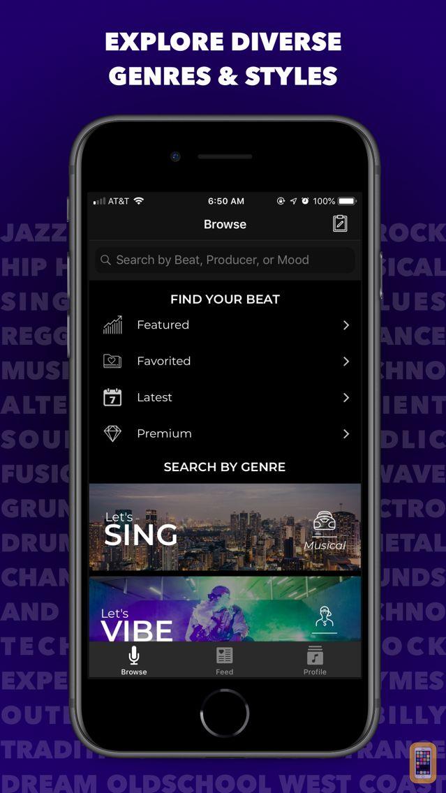 Screenshot - BeatStyle: Explore Beats & Rap