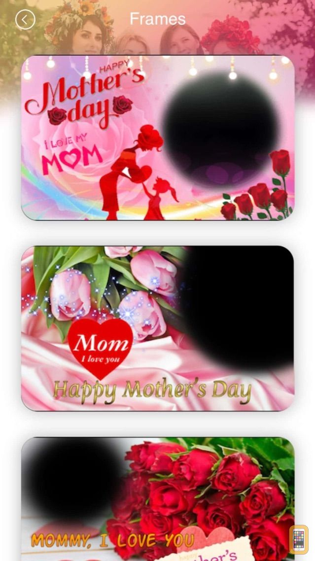 Screenshot - Mother's Day Photo Frames 2018
