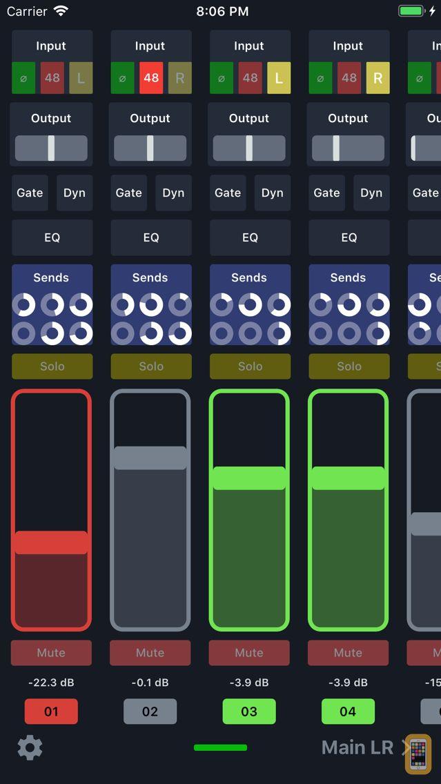 Screenshot - X Air Controller