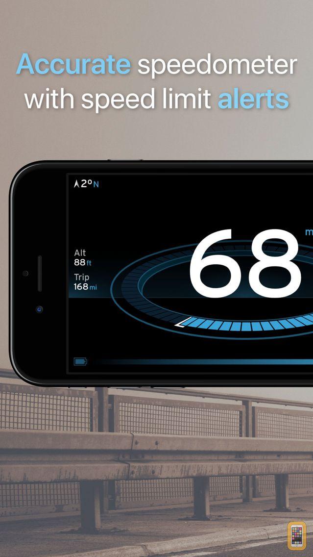 Screenshot - Speedometer One Speed Tracker+