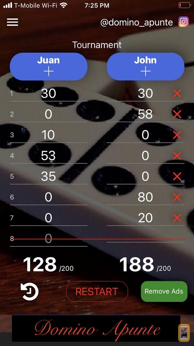 Screenshot - Domino Apunte