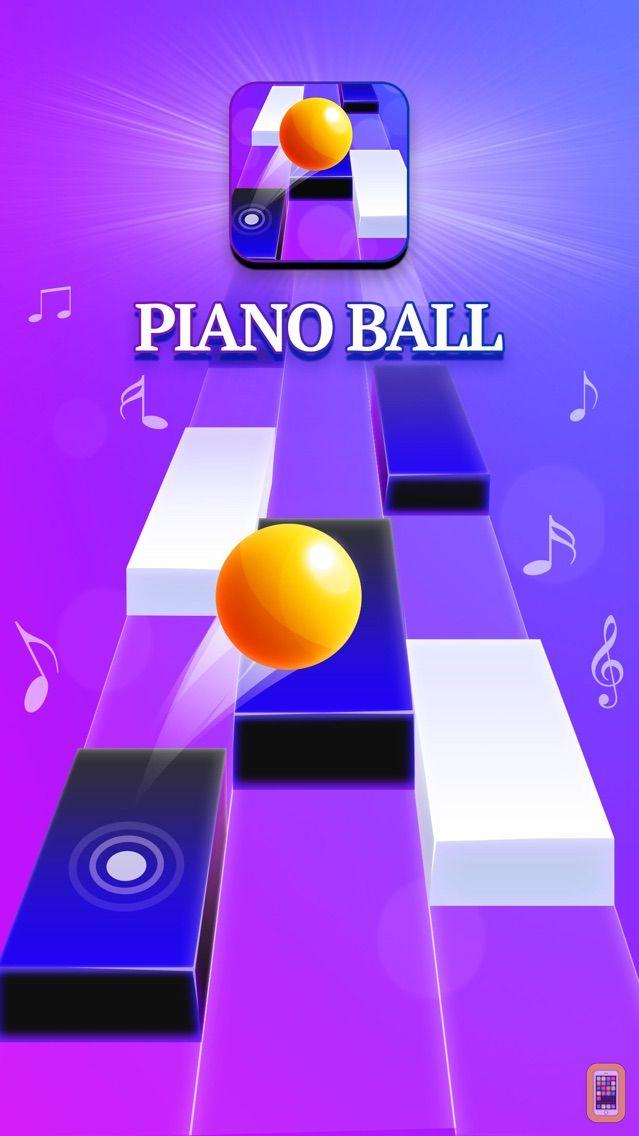 Screenshot - Piano Ball : Music Dance Tiles