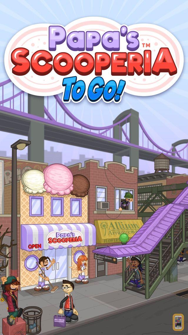 Screenshot - Papa's Scooperia To Go!