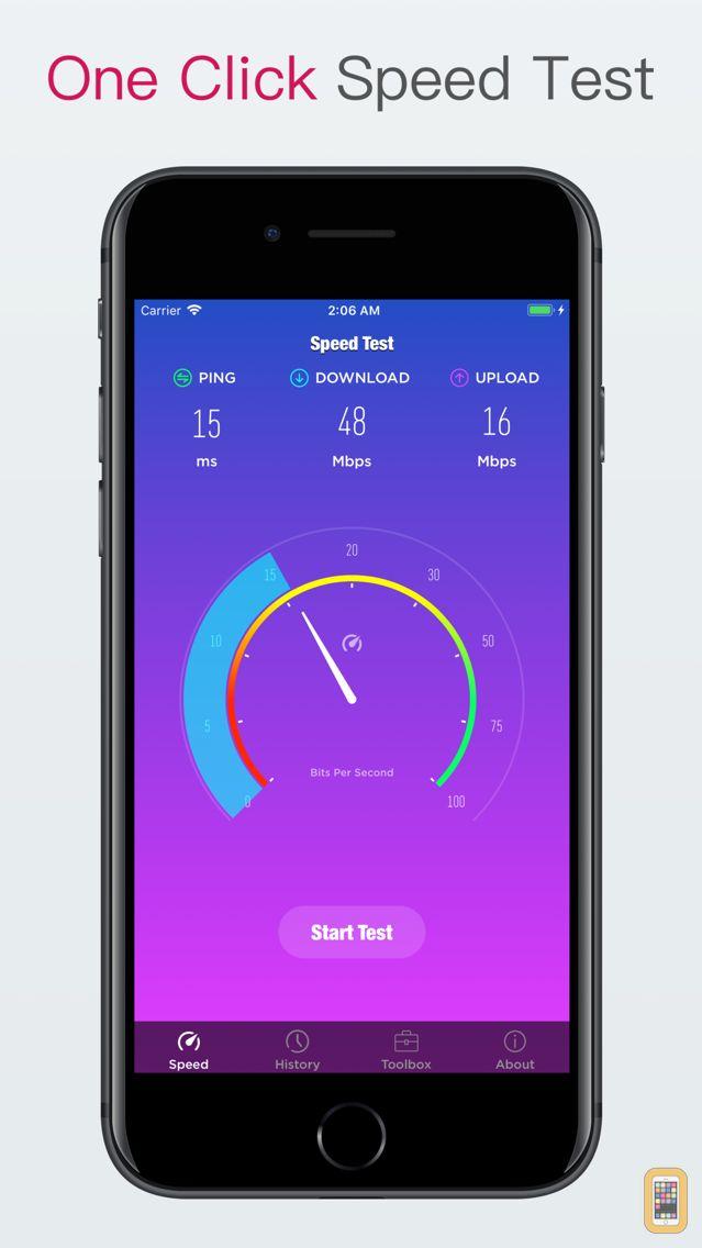 Screenshot - Speed Test – Speed check tool