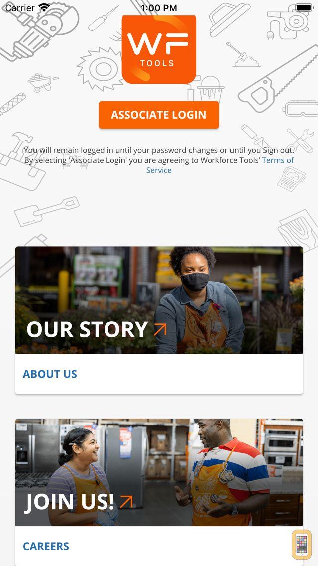 Screenshot - Workforce Tools