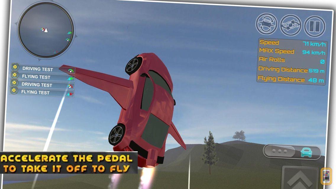 Screenshot - Ultimate Flying Car Adventures
