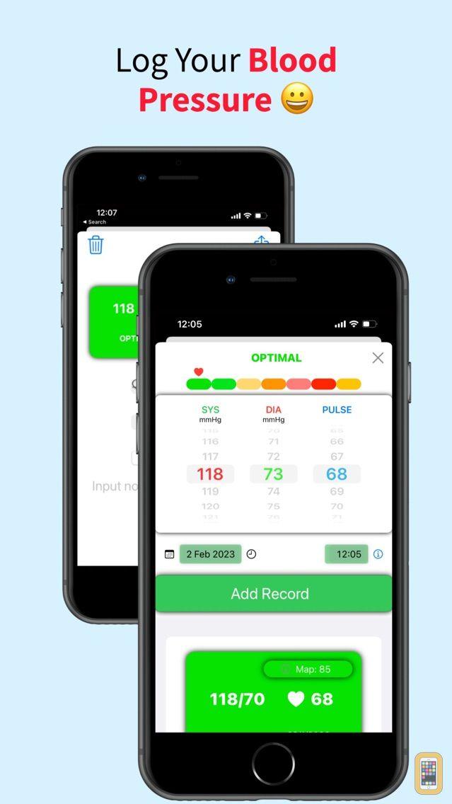 Screenshot - Unique Heart Rate Monitor
