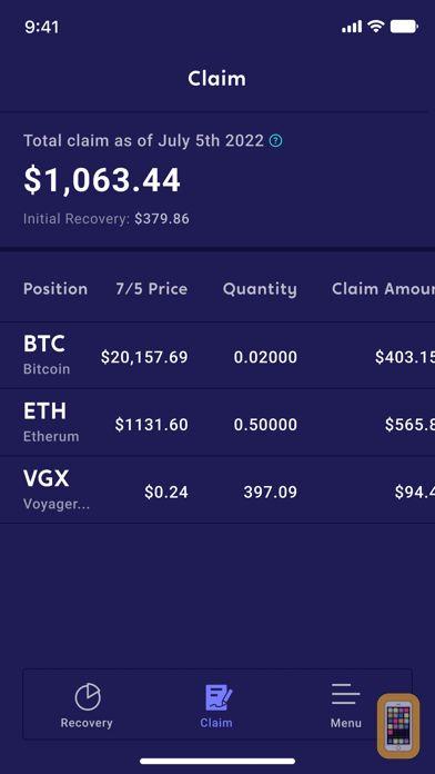 Screenshot - Voyager - Buy Bitcoin & Crypto