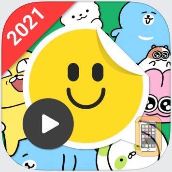 mojitok stickers for WhatsApp by Platfarm Inc. (Universal)