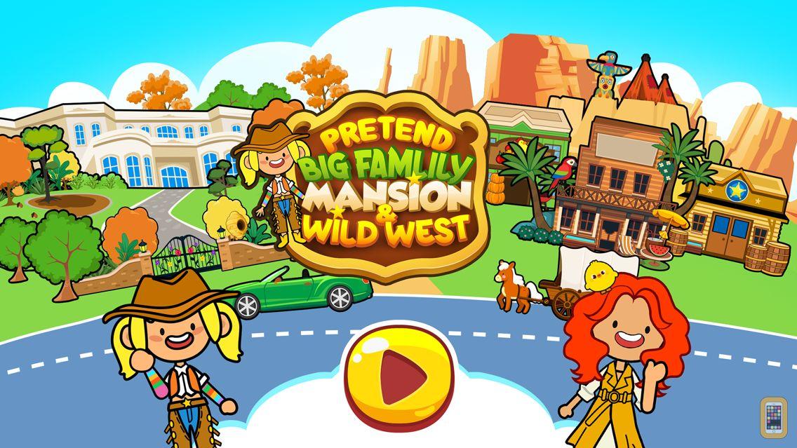 Screenshot - My Pretend Big Family Mansion