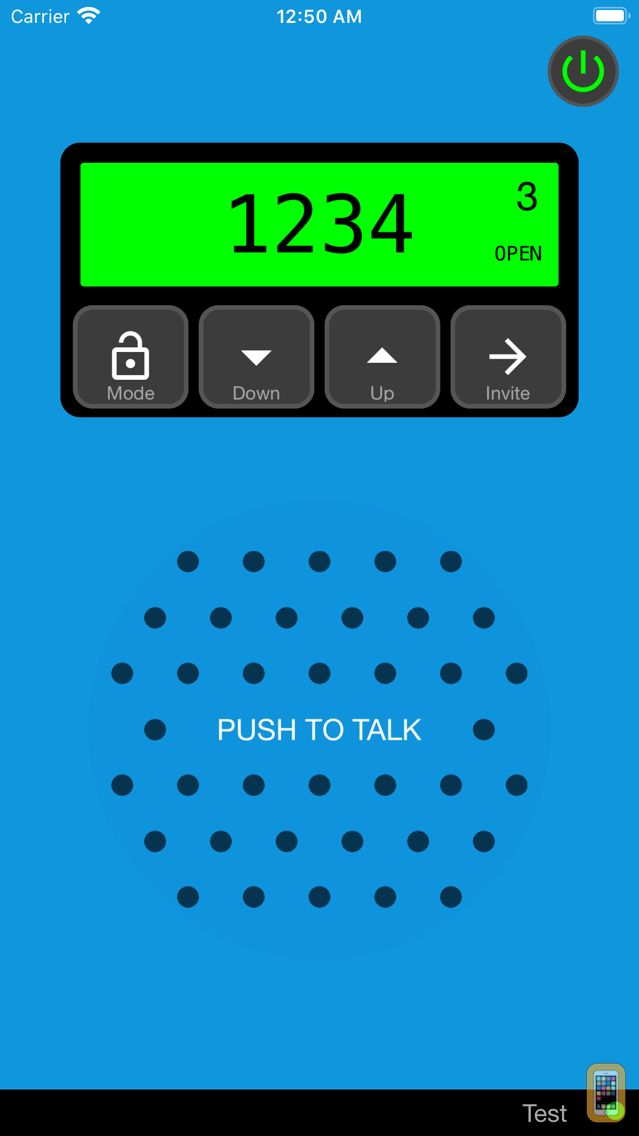 Screenshot - Talk Now! Walkie Talkie
