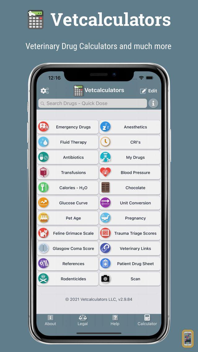 Screenshot - Vetcalculators