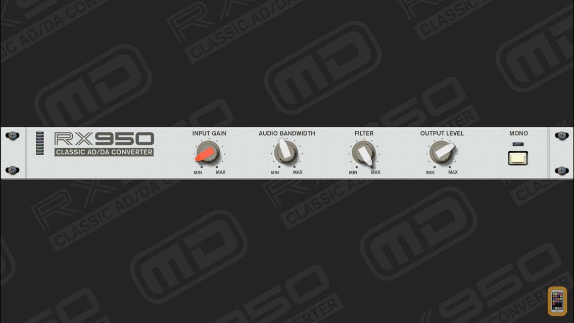 Screenshot - RX950 Classic AD/DA Converter