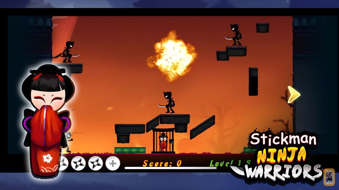 Screenshot - Stickman Ninja Warriors