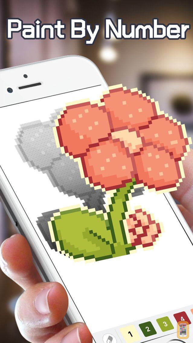 Screenshot - Pixel Paint - Coloring games