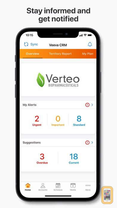 Screenshot - Veeva CRM