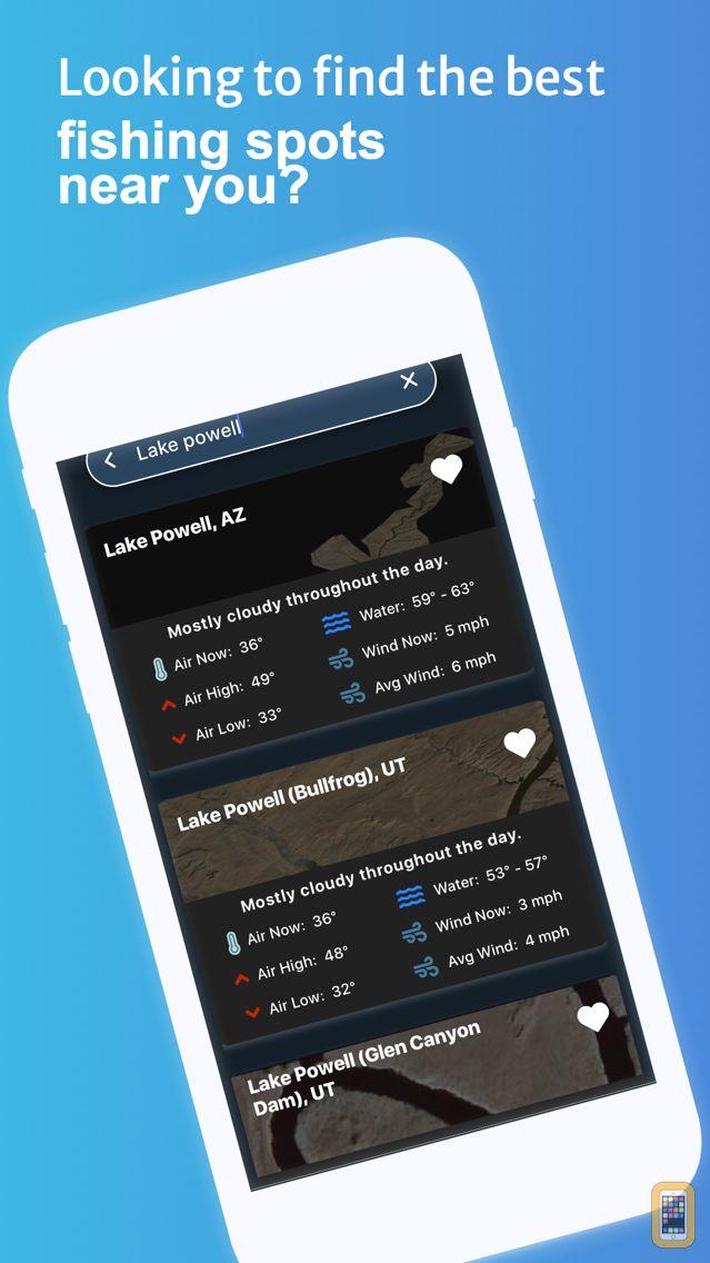 Screenshot - LakeMonster - Lake Weather
