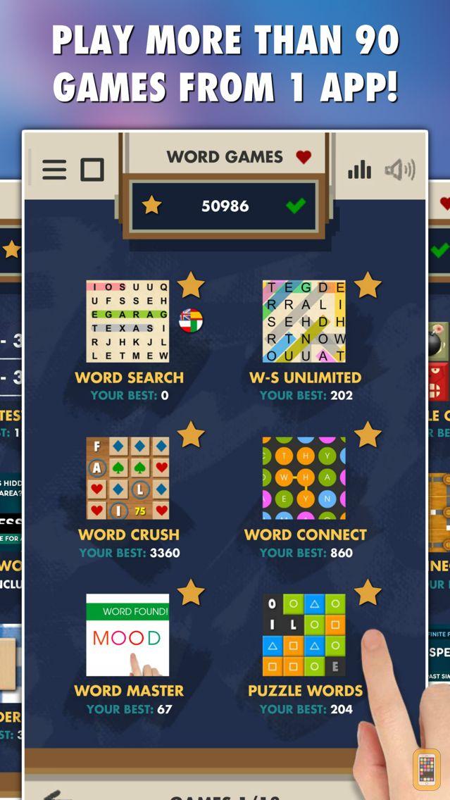 Screenshot - Word Games PRO - 52 in 1