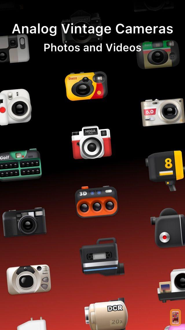 Screenshot - Dazz Cam - Vintage Camera & 3D