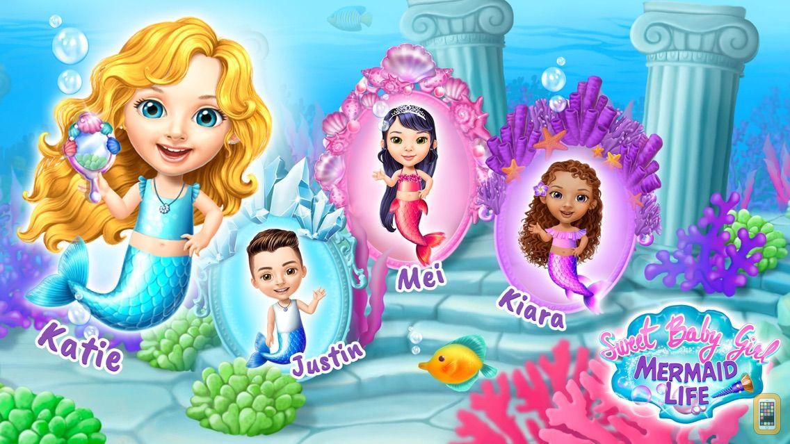 Screenshot - Sweet Baby Girl Mermaid Life