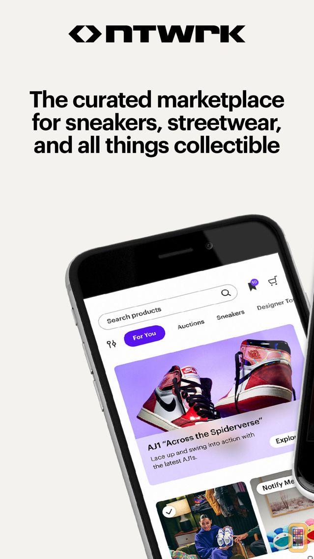 Screenshot - NTWRK - Shop Exclusive Drops