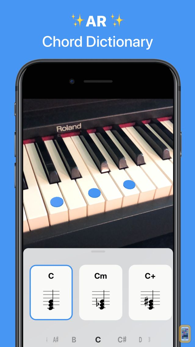 Screenshot - Tonic - AR Chord Dictionary
