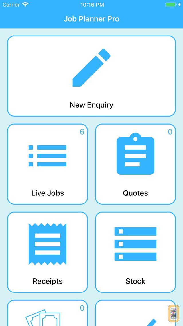 Screenshot - Job Planner Pro