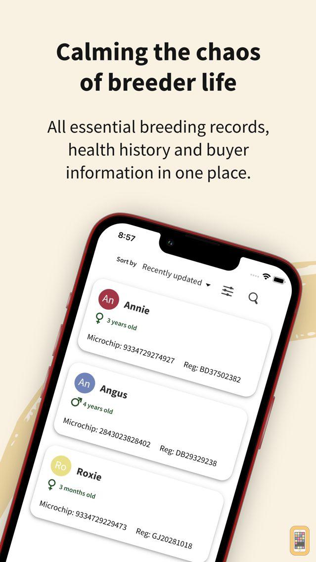 Screenshot - PuppyFat - Whelping Records
